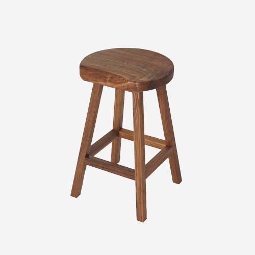 HIGH STOOL_Walnut