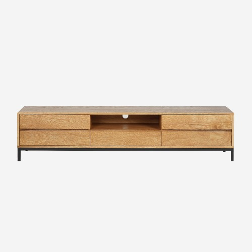 BASIC TV STAND_Oak